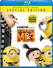 Despicable Me 3 Blu-Ray + Digital - Brand New Sealed