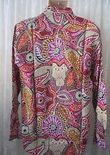 Giorgio DANIELI Shirt Mens Dress REDS Retro Club Hawaiian NWT VTG XL