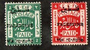 RR 1921 PALESTINE E.E.F  STAMPS X2+  MNH BALE  SG39+50 HI CV