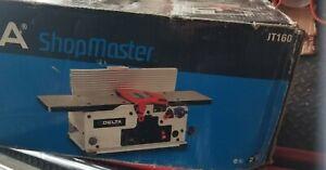 """Delta ShopMaster JT 160 6"""" wood Jointer variable speed NIB"""