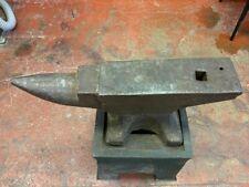 More details for large vintage  blacksmiths anvil and stand