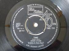 "1ST ISSUE UK TAMLA MOTOWN NORTHERN SOUL 7"" R&B RECORD TIME EDWIN STARR TMG 725"