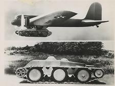 Système de transport rapide des tanks  Vintage silver print Tirage argentique