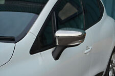 Chrome Wing Mirror Trim Covers Set To Fit Renault Clio IV (2012