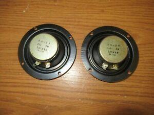 Pioneer Pair of vintage Cone speaker dome tweeters 66-98