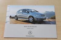 83117) Mercedes B-Klasse - Preise & Extras - Prospekt 07/2007