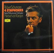 Schumann, Karajan - 4 Symphonies LP Mint- 2561 178 Germany 1972 Vinyl Record