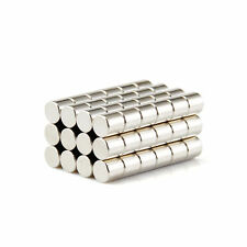 20 Pcs Super Strong Round 6 x 6 mm Magnet Rare Earth Neodymium Fridge Craft N35