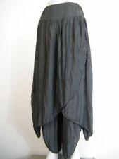 Faldas de mujer de color principal gris de seda