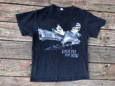 Soul Eater Death The Kid Crossed Guns Anime Black T Shirt Black & White Small S