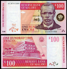 MALAWI 100 KWACHA 1997 P 40 UNC