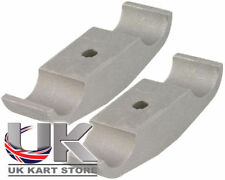 Rotax Max Engine Mount Clamp Bracket 28mm x 92mm Cadet Pack of 2 UK KART STORE