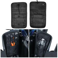 1 Pair Saddlebag Organizer Hard Bags Storage For Harley Touring Road King Indian