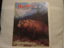 Ruger Arms 1987 catalog with dealer price sheet