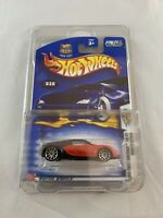 Hot Wheels - Bugatti Veyron 2003 First Editions - Long Card INCLUDED PROTECTOR