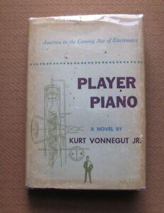 """PLAYER PIANO by  Kurt Vonnegut - 1st/BC HCDJ 1952  Scribner  """"A"""""""