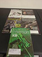 Lot of 5 American Rifleman Magazine Back issues 2008-2010 EUC