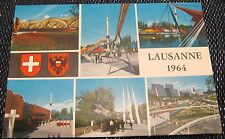 Switzerland Lausanne multi-view 1964 - posted 1964