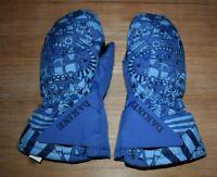Toddler Dakine Blue Toddler Brat Mittens L 3-4 Year Gloves Mountain Trains Child