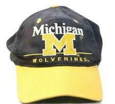 Vintage Michigan Wolverines Snapback Cap Hat Twins Enterprises