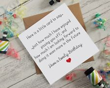 Birthday Cards pissing you off annoying funny dirty cheeky Greetings card B44