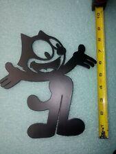 New Felix The Cat Metal Wall Plaque