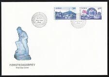 Norway 1998 Fdc Bicentenary Of Ergesund