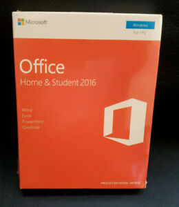 Microsoft Office Home and Student 2016 Windows New Product Key - Sealed
