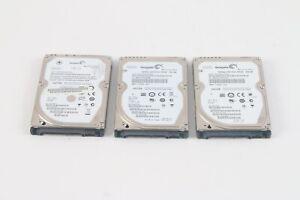 Seagate Momentus Hard Drive 1x 5400.5 160GB 2x 7200.4 250GB - Lot De 3