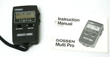Gossen Multi-Pro Digital Ambient & Flash Exposure Meter & Manual