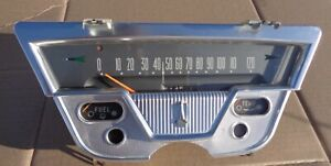 1959 Plymouth  Speedometer Gauges Assembly Sport Fury Belvedere Savoy