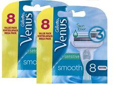 16 Gillette Venus smooth sensitive Klingen Rasierklingen Ersatzklingen NEU