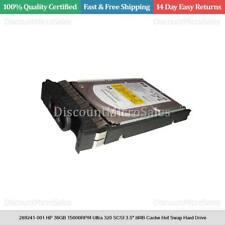 """289241-001 HP 36GB 15000RPM Ultra 320 SCSI 3.5"""" 8MB Cache Hot Swap Hard Drive"""