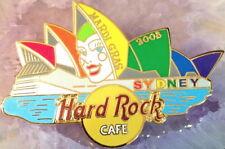 Hard Rock Cafe SYDNEY 2003 Mardi Gras PIN Opera House with White Mask HRC #23902