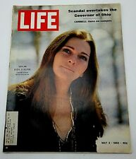 Life Magazine Judy Collins May 2 1969 Cornell Guns on Campus OH Governor Scandal