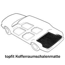 Kofferraumwanne für Seat Cordoba 6L Limousine Stufenheck 4-türer 2002-2008