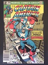 Captain America #262 1981 Civil War  Ameridroid Nomad Nihilist FN-