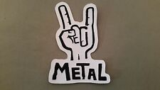 metal embroidered iron on heavy metal rock patch