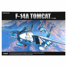 ACADEMY #12471 1/72 Plastic Model Kit F-14A Tomcat USN ACYS1679