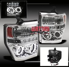 08-10 FORD F250 F350 F450 F550 SUPER DUTY CCFL HALO DRL LED PROJECTOR HEADLIGHTS