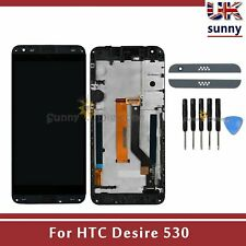For HTC Desire 530 LCD Touch Screen Digitizer Assembly Replacement Black+Frame