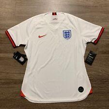 Nike England Home Soccer Jersey Womens Dri-Fit 2019 AJ4392-100 Size Large