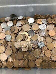 Five Pound Wheat Penny Lot