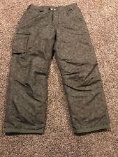 White Sierra Snow Ski Snowboard Pants Green  Youth XL