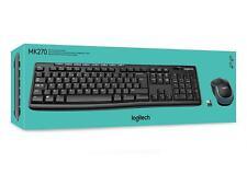 Logitech MK120 USB Wired Desktop Keyboard & Mouse Laser Black