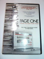 Page One: Inside the New York Times DVD documentary movie newspaper news NEW!