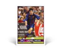 Topps The Lost Rookie Cards Lionel Messi Rookie Card Confirmed Order Free Ship