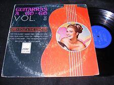 Scarce Made In Mexico JERRY COLE & THE STINGERS LP Guitarras A Go-Go VOL 3 CISNE