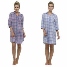 Knee Length Check Nightdresses & Shirts for Women