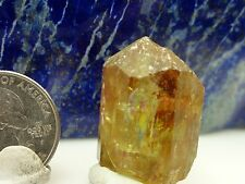 Apatite Crystal Gem Specimen Rough Jewelry point healing wire wrapping  AP - 10